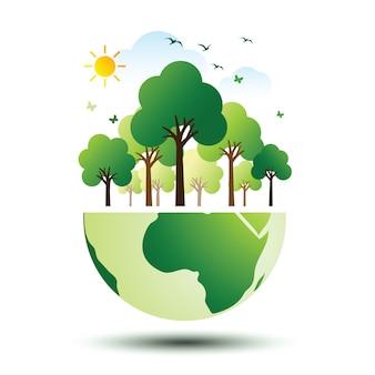 Green eco earth 2