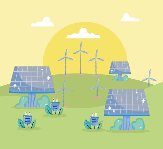 녹색 에너지 환경 친화적