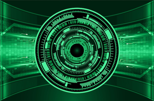 Green eye cyber circuit future technology