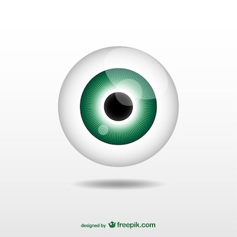 Green eyeball
