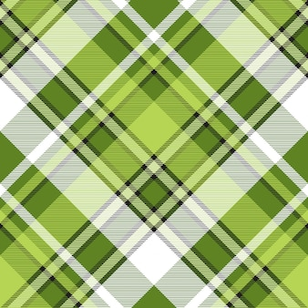 Green fabric abstract modern seamless pattern