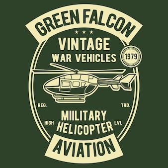 Green falcon