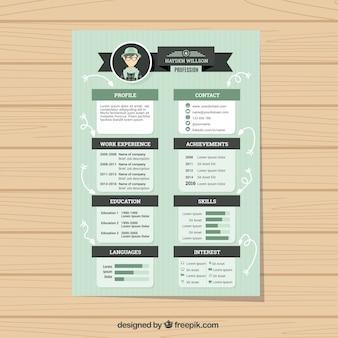 Green fast food menu