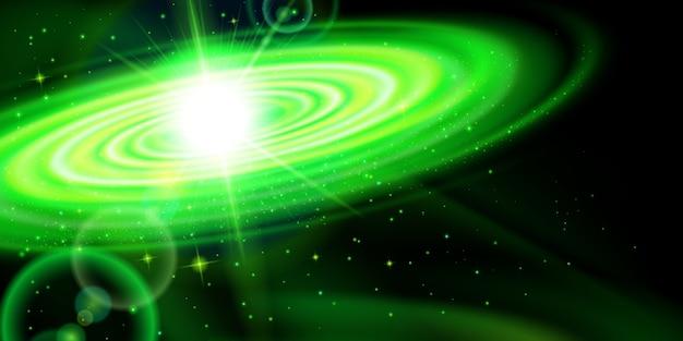 緑の銀河 Premiumベクター