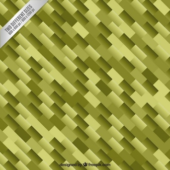 Green geometric background in abstract style