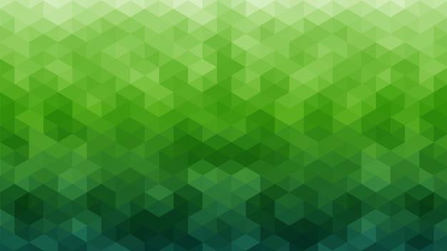 緑の幾何学的な抽象的な背景