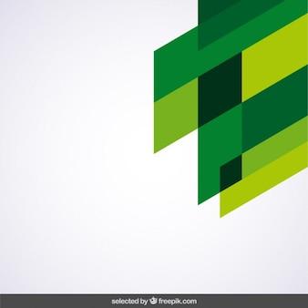 Green geometrical corner