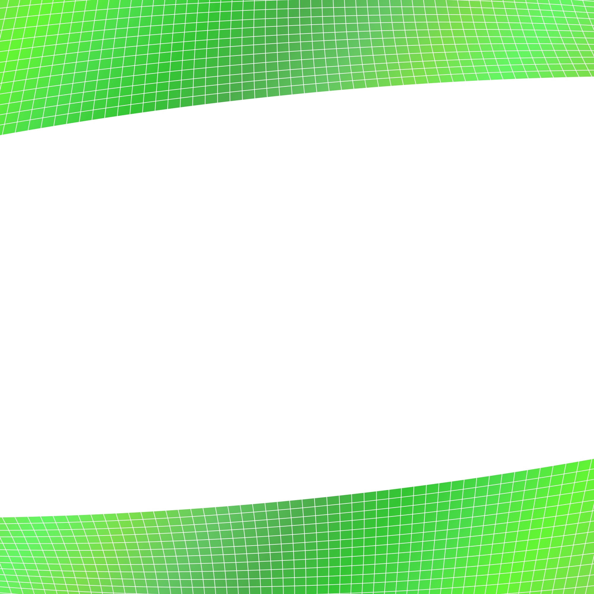Green geometrical grid background - design from curved angular stripes