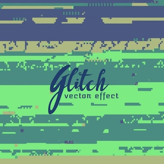 Green glitch background