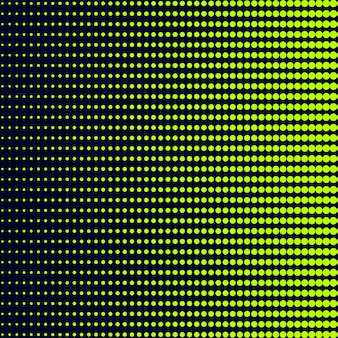 Green gradient halftone background vector