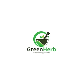 緑のハーブ