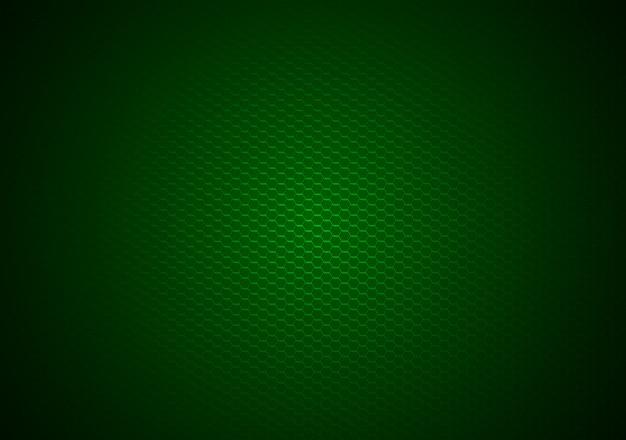 緑の六角形の背景