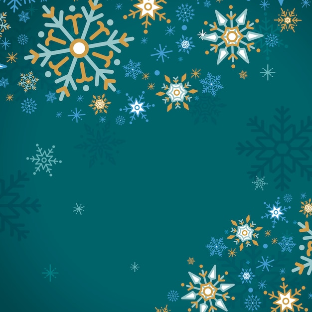 Green holiday design background vector