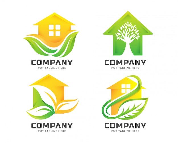 Зеленый дом логотип