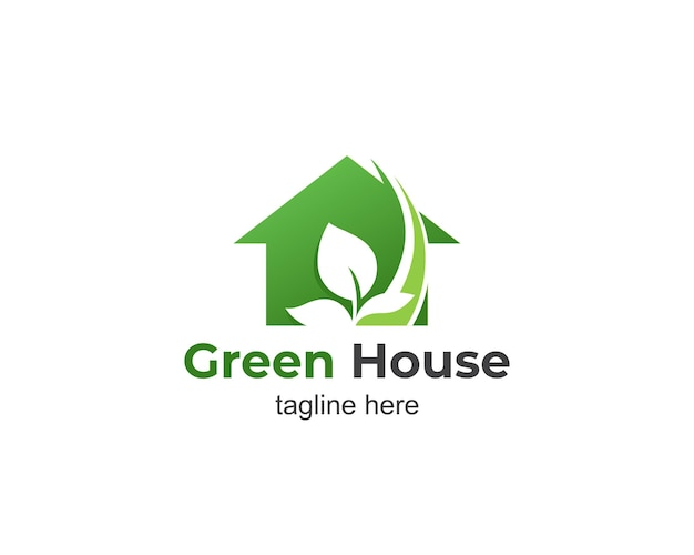 温室のモダンなロゴデザイン