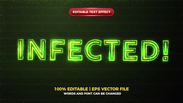 Green infected alert electric glow bold editable text effect.jpg