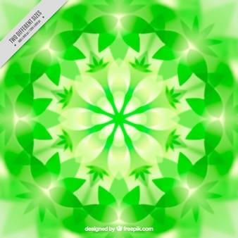 グリーン万華鏡の背景