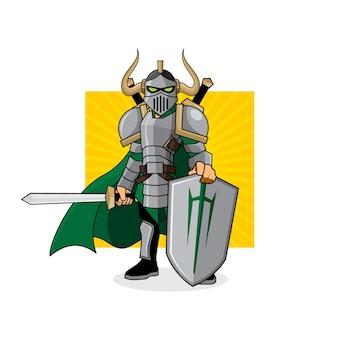 green knight character description