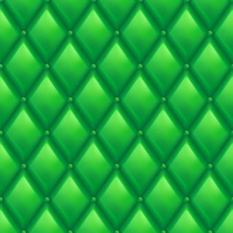 Зеленый кожаный фон