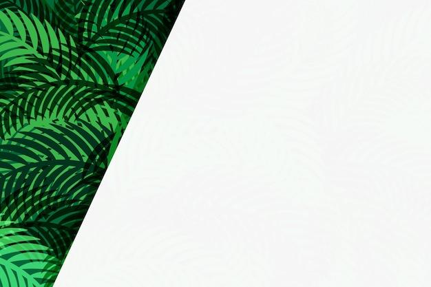 Зеленые листья вектор абстрактного фона дизайн фона.