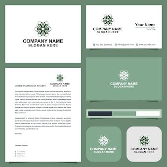 緑のロゴ会社