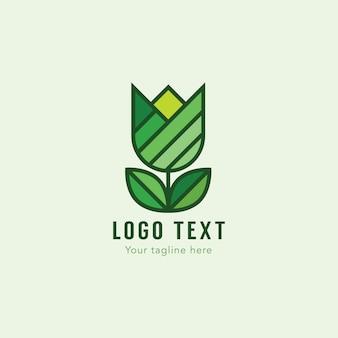 Green logo design