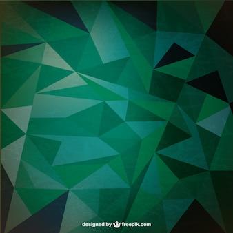 Retro triangolo astratto vettore
