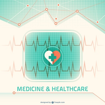 Green medicine background