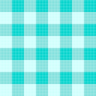 Green mint tartan seamless background