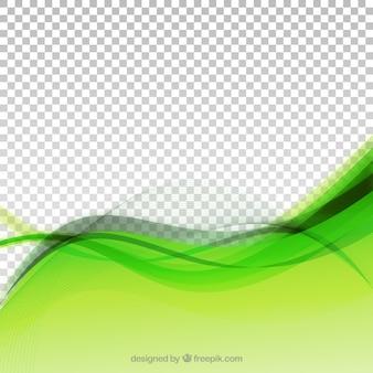 Verde astratto sfondo moderno