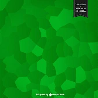 緑のモザイク背景デザイン