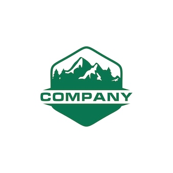 Green mountain outdoor logo