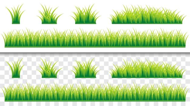 Зеленая природа трава шаблон