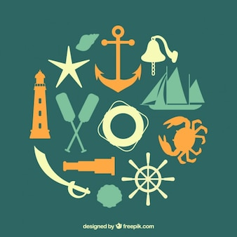Green nautical elements
