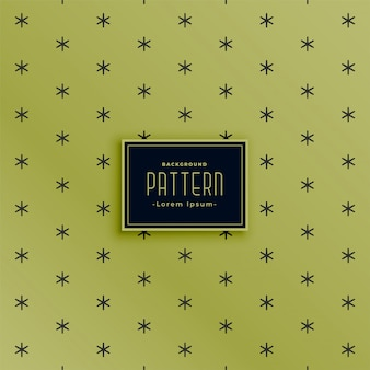 Green pattern background with small star shapes