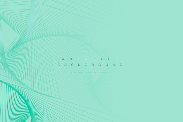 Green patterned background