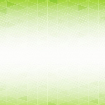 Green polygon background