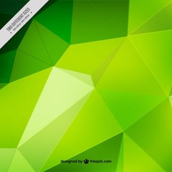 Фон зеленый полигоны