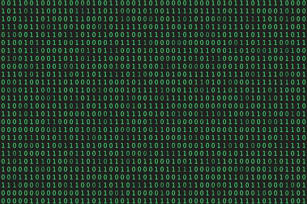 グリーンプログラミングバイナリコーディングマトリックス