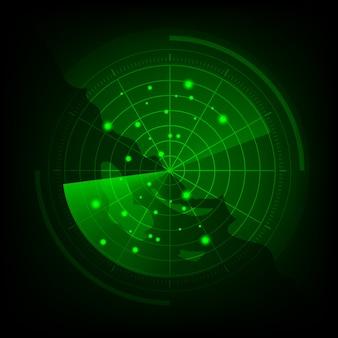 Radar screen effect ipo