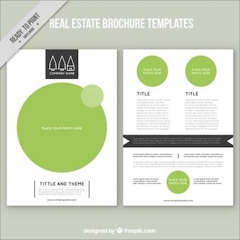 Green real estate brochure