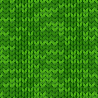 Green seamless knitted background for banners, wallpapers. warm site background.