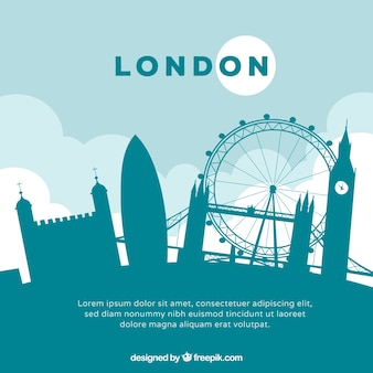 Green skyline of london