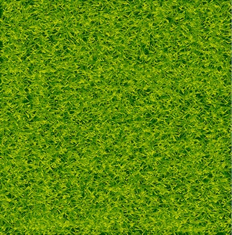 Green soccer grass field vector background