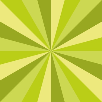 Зеленый санберст весна арт вектор текстуры дизайн