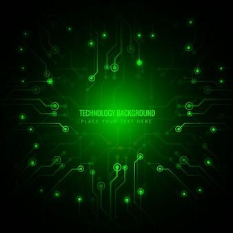 녹색 기술 배경