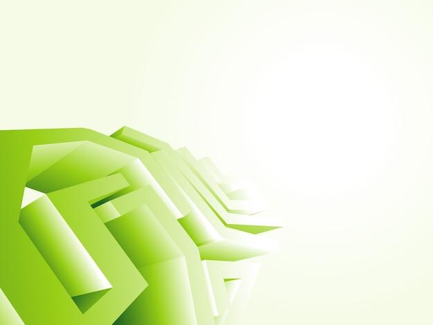 녹색 기술 벽지 디자인