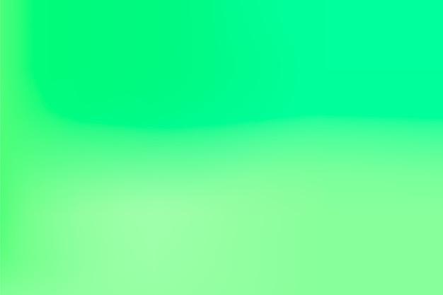 그라데이션에 녹색 톤 배경