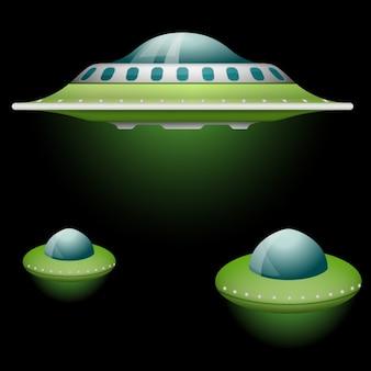 Green ufo