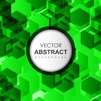 Зеленый вектор абстрактный фон